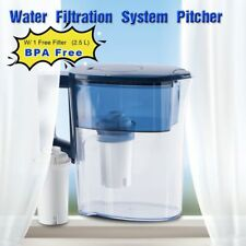 Filter Pitcher Water Jug Drinking Water Cleaner Cup 2.5L Replacement Cartridge