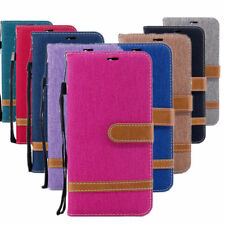 Denim Jean Cowboy Fabric Leather Skin Case Cover for Lenovo K8 Note