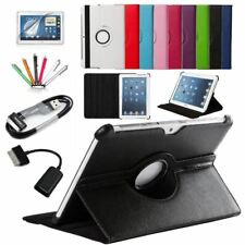 7 in 1 For Samsung Galaxy Tab 2 10.1 P5100 P5110 P7500 P7510 Smart Tablet PU Lea