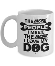Dog Owner Ceramic Coffee Mug Best Gift Tea Cup for Dog Lovers Pet Owners