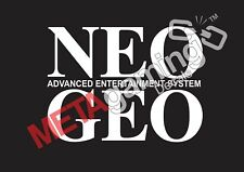 NEO GEO game logo for PC PS Xbox or Car Decal Sticker