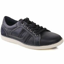 Red Tape Cumber Mens Lace Up Leather Italian Style Casual Shoes Navy UK Size