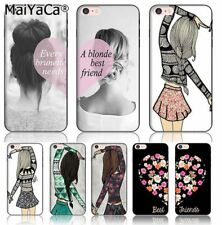 Best friends girly Colorful Phone case Accessories cover For iPhone 6 6s Case