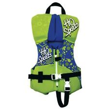 HO Sports Infant Baby Life Vest Jacket Green USCG APPROVED TYPE II PFD Max 30lbs
