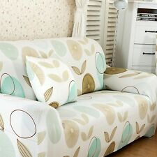 Pastoral Style Stretch Sofa Slipcover Protector Settee Cover Fit 1 2 3 4 Seater