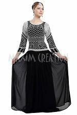 ORIGINAL MODERN ABAYA FANCY JILBAB ARABIAN KAFTAN WEDDING GOWN DRESS 6090