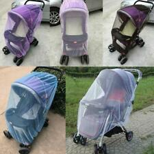 Pushchair Mosquito Net Baby Stroller Insect Shield Protection Mesh Accessories