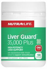 Nutralife LIVER GUARD 35,000 PLUS Healthy Detoxification- 50 Or 100 Capsules