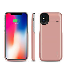 5000mAh Portable External Power Bank Battery Charger Case Cover For iPhone X