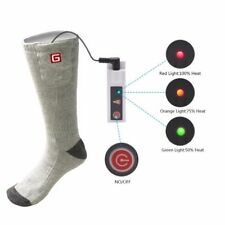 NEW Electric 3.7V Heated Socks Rechargeable Lithium Battery Smart Winter Hunting