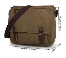 J.M.D Canvas Messenger Bag Casual Cross Body Travel Shoulder Bag For Young