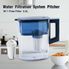 New Drinking Pure Filter Jug Pitcher Filter Replaced Activate Carbon Block 2.5L