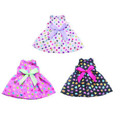 Clothes for 14 inch American Girl Doll Bubble Skirt Dress Gown Outfits Doll Accs