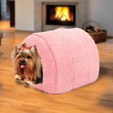 Bed House Cat Cave Pet Dog Mat Warm Puppy Soft Pad Sleeping Hot Cushion Cotton