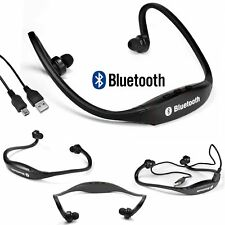 Wireless Bluetooth Stereo Headset Sport Headphone Handfree Earphone With Cable