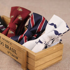 Men Fashion Pattern Adjustable Bowknot Wedding Neckwear Bow Tie Bowtie Tuxedo