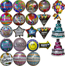 Happy Birthday Balloon Feliz Cumpleaños Globo Party Supplies Favor Gift Regalo