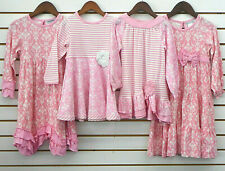 Toddler & Girls Tara Collection Assorted Pink Dresses Size 2 - 12