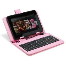 "Universal USB Keyboard PU Leather Stand Case For 7"" inch Android Tablet Cover"