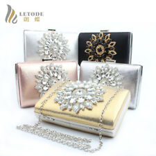 Luxury Women Purse Wallet Rhinestone Evening Clutch Diamond Bag Shoulder Handbag