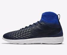 Nike LUNAR MAGISTA II FLYKNIT MEN'S SHOES,NAVY/BLUE/WHITE- US 10,10.5,11 Or 11.5