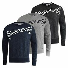 Mens Jumper Money Clothing Hardway Crew Neck Sweatshirt