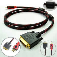HDMI Male to DVI 24+1 Male Gold Adapter Converter Cable for TV DVD Xbox 360 PS3