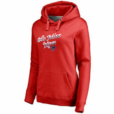 Fanatics Branded Ole Miss Rebels Women's Red Team Mom Pullover Hoodie - College