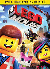 The LEGO Movie (DVD, 2014, 2-Disc Set, Special Edition Includes Digital Copy Ul…