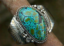 Natural Turquoise 925 Silver Ring Wedding Engagement Anniversary Jewelry Sz 6-10