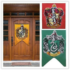 Harry Potter Banners Gryffindor Slytherin Hufflerpuff Ravenclaw College Flags
