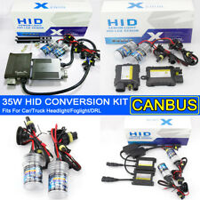 35W DC/AC Xenon HID Headlight Foglamp Conversion Kit Bulb Light DRL Lamp Car 12V