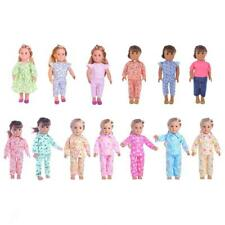 """Casual Shirt Pants Pajamas Suit for 18"""" American Girl Our Generation Doll Outfit"""