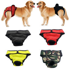 Reusable Soft Cotton Pet Dog Pants Sanitary Physiological Diaper Nappy Underwear