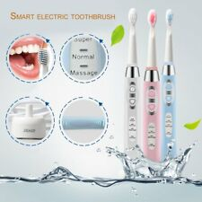 Seago Waterproof Adult Battery Powered Electric Toothbrush 3 Cleaning Modes GS