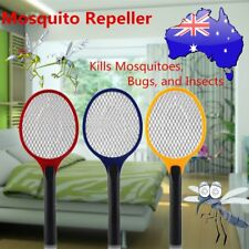 Electric Practical Insect Bug Fly Mosquito Zapper Swatter Killer Racket new FAB