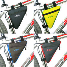 Bycicle Frame Pack Pannier Front Tube Bag Cycling Bike Frame Pack Triangle 5NP