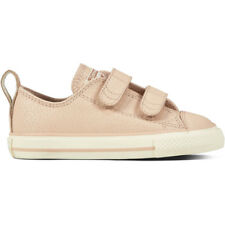 Converse Chuck Taylor All Star 2V Leather Ox Particle Beige Leather Baby