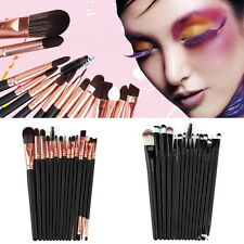 15Pcs/Set Make Up Brushes Kit Eyeshadow Eyeliner Mascara Eye Brush Tools GN