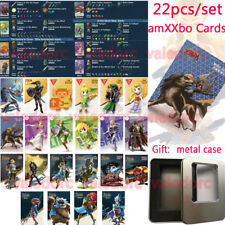 22pcs NFC Tag Game Cards 20 hearts Zelda Breath Of The Wild Wolf Link For Switch
