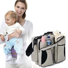 3 in 1 Portable Travel Bag Folding Baby Infant Bed Multi-purpose Carrycot