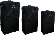 """30""""/36""""/40"""", Expandable Rolling Duffel Bag Wheeled Spinner Suitcase Luggage"""