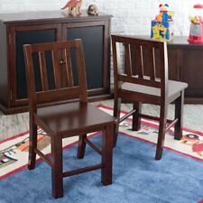 Classic Playtime Hopscotch Chairs - Set of 2 - Espresso