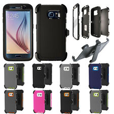 Defender Case for Samsung Galaxy S7 & Galaxy S6(Belt Clip fit Otterbox Defender)