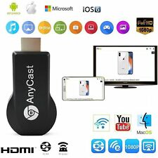 WiFi Display Dongle Receiver 1080P HDMI TV AnyCast DLNA Airplay Miracast LOT BU