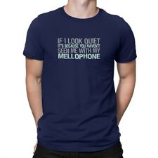 If I look quiet it's because you haven't seen me with my Mellophone T-shirt