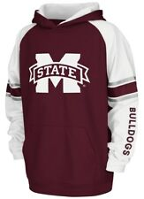 """Mississippi State Bulldogs Youth NCAA """"Buttonhook"""" Pullover Hooded Sweatshirt"""