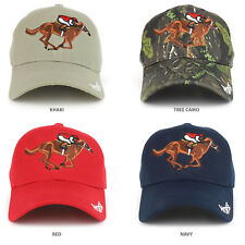 Horse Riding Equestrian Embroidered Structured Baseball Cap - FREE SHIPPING