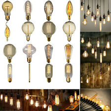 40W 220V Filament Light Bulbs Vintage Retro Industrial Style Edison Lamp E27 A14