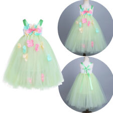 Pageant Flower Girl Princess Dress Kids Baby Formal Party Wedding Holiday 2-12Y